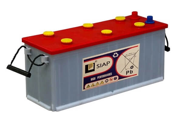 классические свинцово-кислотные батареи с жидким электролитом для лодки