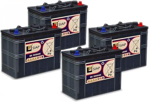 аккумуляторы SIAP для погрузчиков и штабелеров
